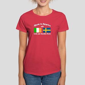 Irish-Swedish Women's Dark T-Shirt