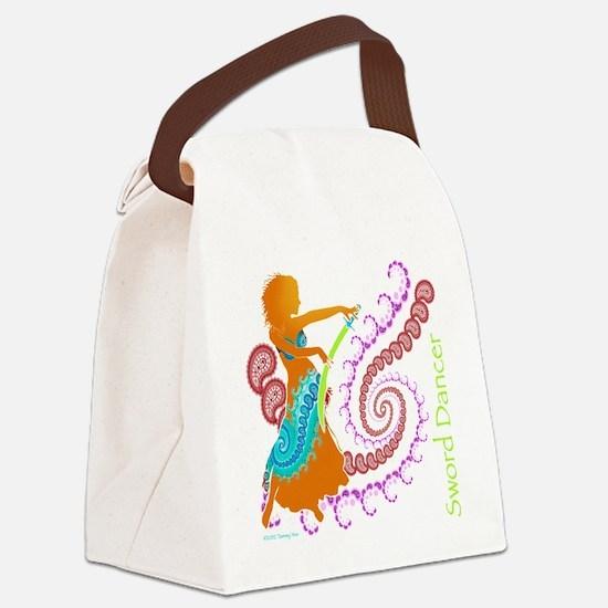 Sword Dancer Canvas Lunch Bag