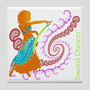 Sword Dancer Tile Coaster