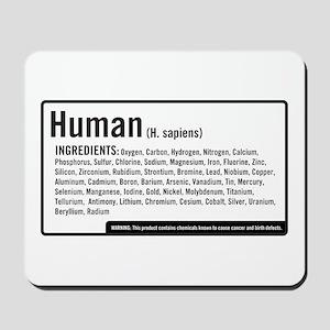 Human Ingredients Mousepad