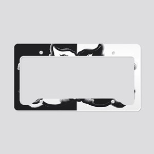 Yin Yang Cats by SureFireCat License Plate Holder