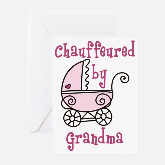 Chauffeured By Grandma Greeting Card