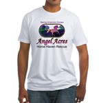 Angel Acres Horse Haven Rescue Fitted T-Shirt