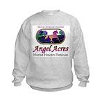 Angel Acres Horse Haven Rescue Kids Sweatshirt