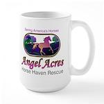 Angel Acres Horse Haven Rescue Large Mug