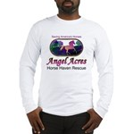 Angel Acres Horse Haven Rescue Long Sleeve T-Shirt