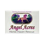Angel Acres Horse Haven Rescue Rect. Magnet (10