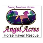 Angel Acres Horse Haven Rescue Small Poster