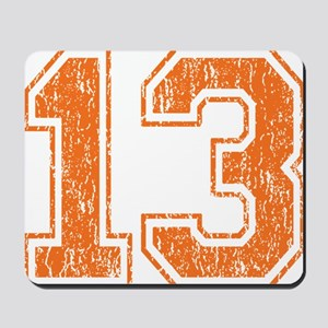 Retro 13 Orange Mousepad