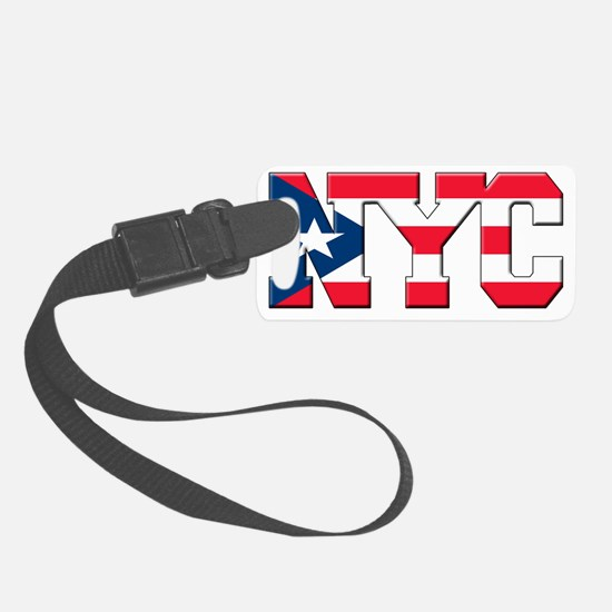 New York Puerto Rican Luggage Tag