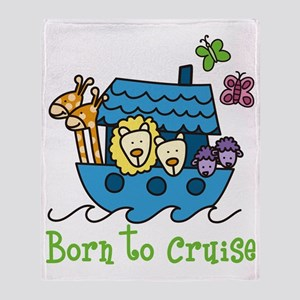 Born To Cruise Throw Blanket