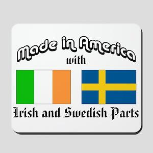Irish-Swedish Mousepad