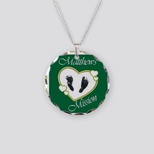 Matthew's Mission Necklace Circle Charm