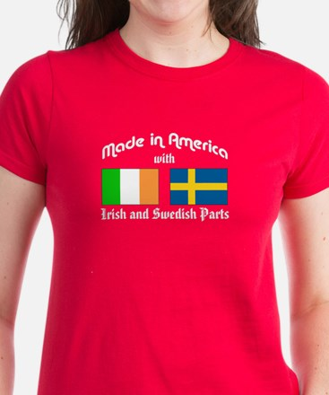 Irish-Swedish Women's Dark T-Shirt