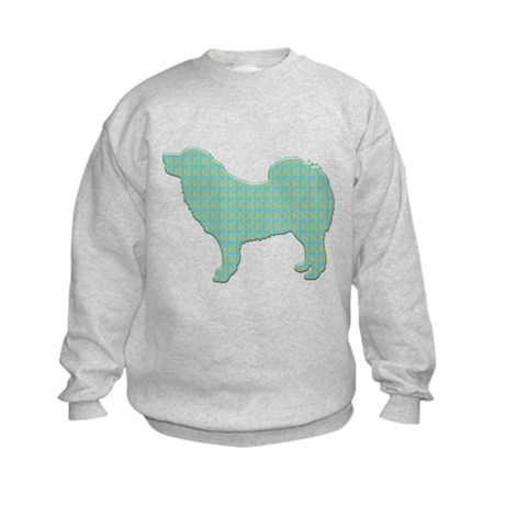 Paisley Mastiff Kids Sweatshirt