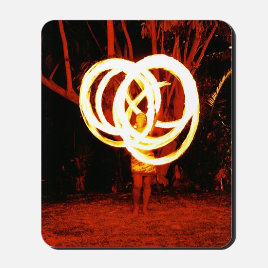 Tehani Fire Poi, Photo One Mousepad