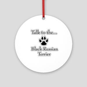 Russian Talk Ornament (Round)