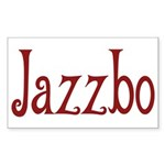 Jazzbo Rectangle Sticker