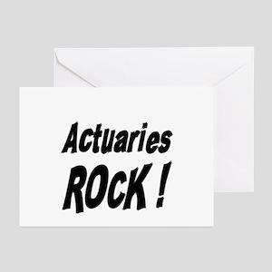 Actuaries Rock ! Greeting Cards (Pk of 10)