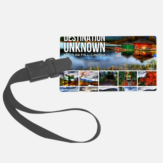 Whistler-Cover Luggage Tag