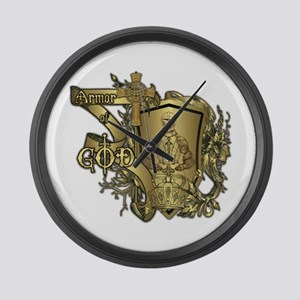 Armor of God Large Wall Clock