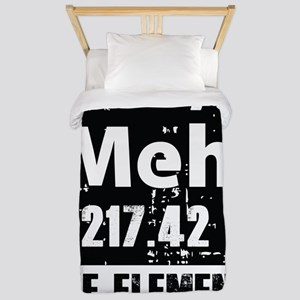 Indifference Twin Duvet