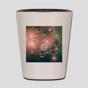 Atomic structure Shot Glass