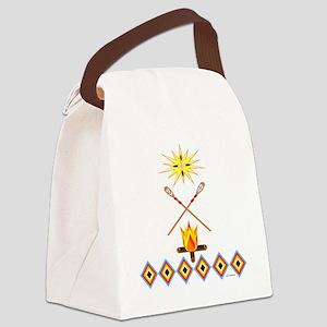 SOUTHEAST TRIBAL STICKBALL Canvas Lunch Bag