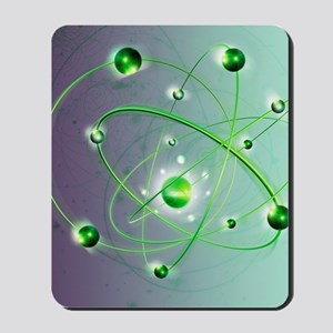 Atomic structure Mousepad