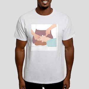 Artificial respiration, artwork Light T-Shirt