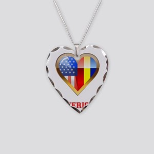Romerican Necklace Heart Charm