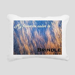 My favorite color is bri Rectangular Canvas Pillow