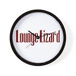 Lounge Lizard Wall Clock