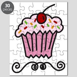 Pink Cupcake Puzzle
