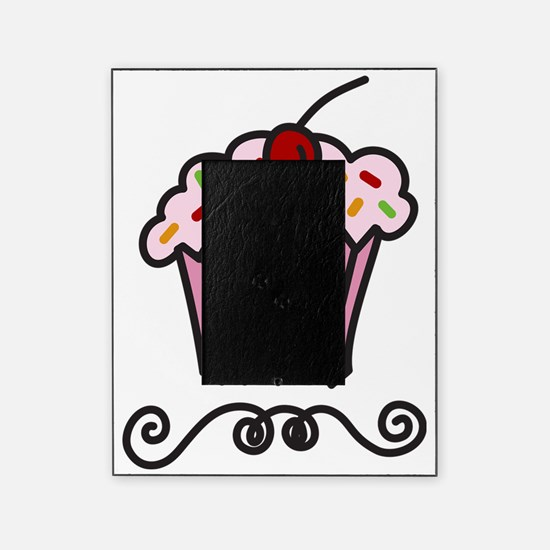 Pink Cupcake Picture Frame
