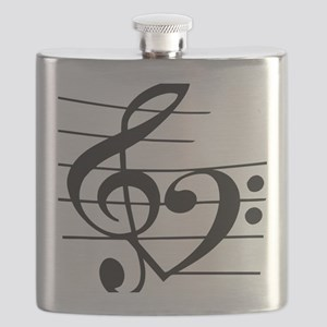 Music heart Flask