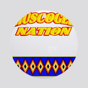 MUSCOGEE NATION Round Ornament