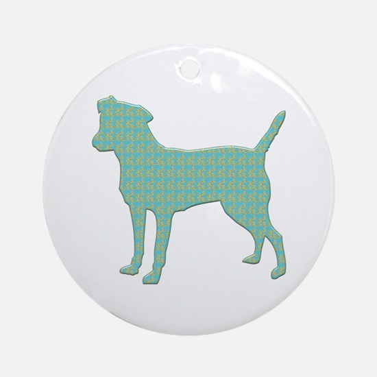 Paisley Patterdale Ornament (Round)