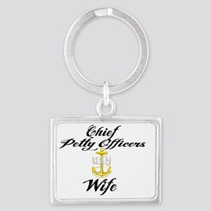 CPO Wife Landscape Keychain