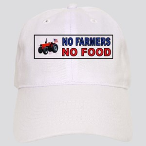NO FARMERS FOOD Baseball Cap