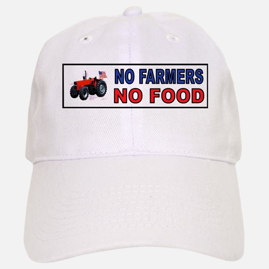 NO FARMERS FOOD Baseball Baseball Baseball Cap