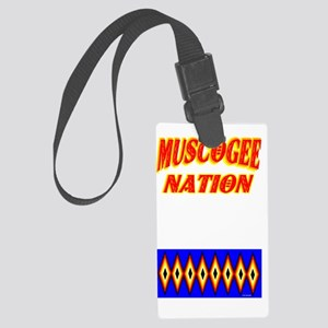 MUSCOGEE NATION Large Luggage Tag