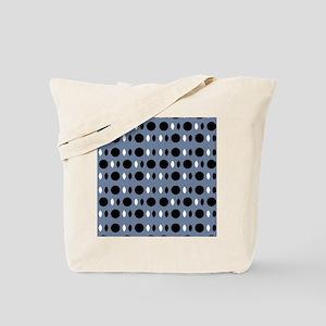 Slate Gray Chic Designer Tote Bag