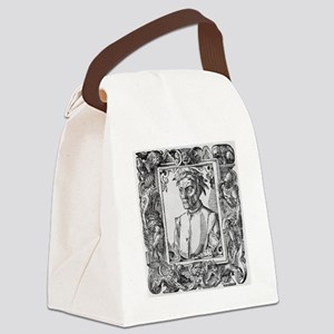 Dante Alighieri, Italian poet Canvas Lunch Bag