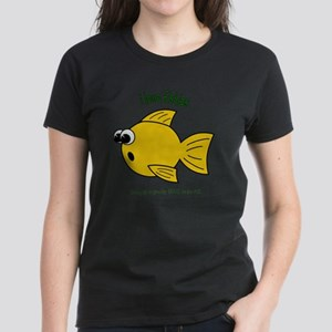 I LOVE FISHIES - LOVE TO BE M Women's Dark T-Shirt