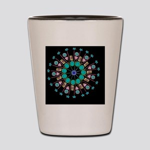 Diatom assortment, SEMs Shot Glass