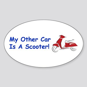 My Other Car Oval Sticker