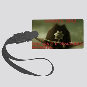 Ricktatorships Large Luggage Tag