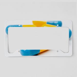 Drug capsules License Plate Holder