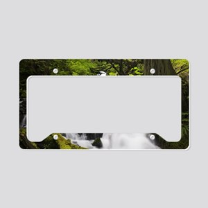 Wahkeena Summer License Plate Holder